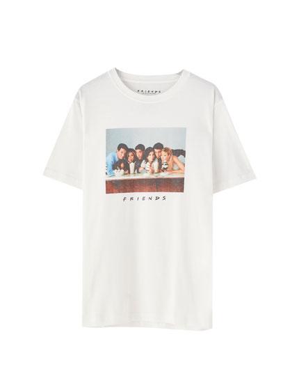 T-shirt Friends avec photo