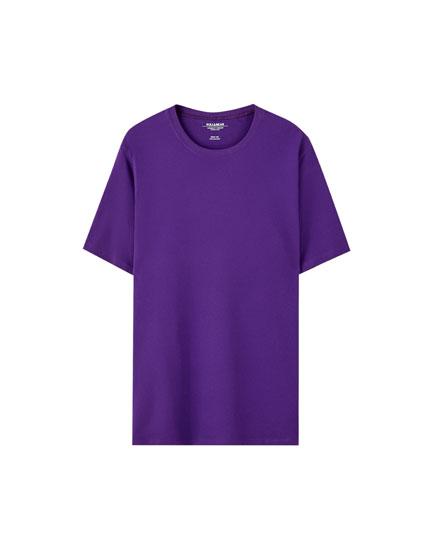 T-shirt basique manches courtes couleurs