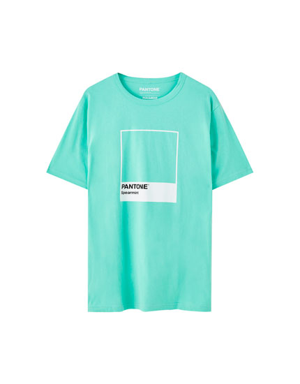 Camiseta Pantone Spearmint