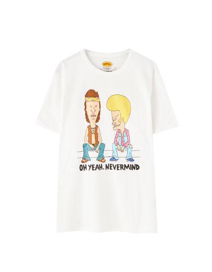 T-shirt Beavis et Butt-Head