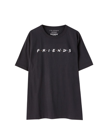 Friends T-shirt in black