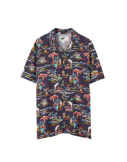 Aloha viscose shirt