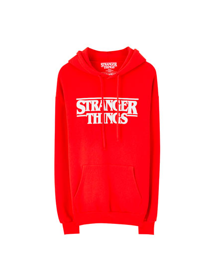 Sudadera Stranger Things capucha