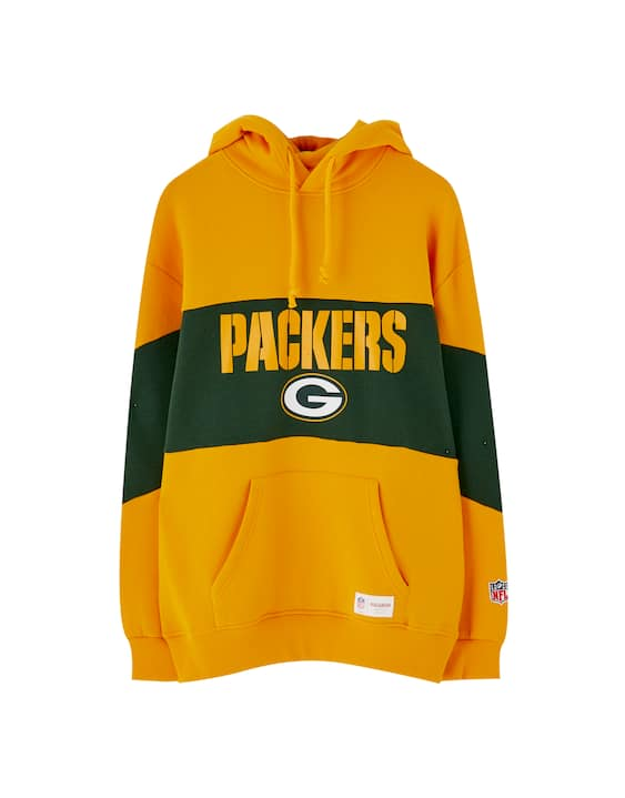 wholesale dealer 313ef c6622 NFL Packers hoodie