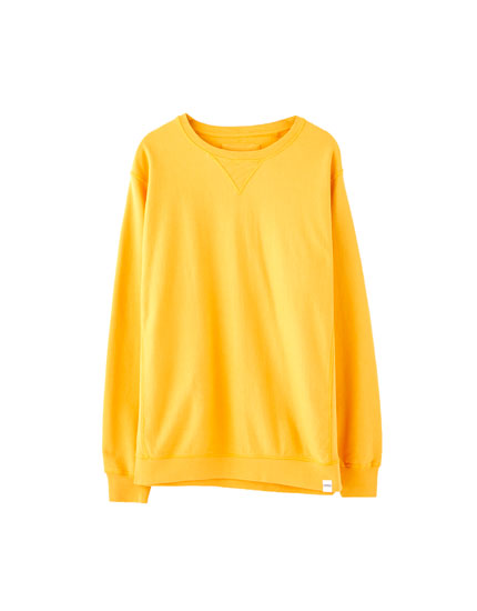 Lightweight coloured sweatshirt