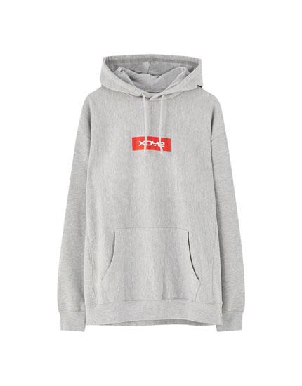 XDYE pouch pocket hoodie