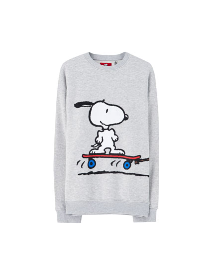 Sweatshirt Peanuts Snoopy Charlie Brown