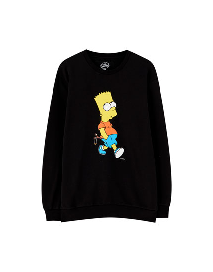 Sweatshirt dos Simpsons do Bart