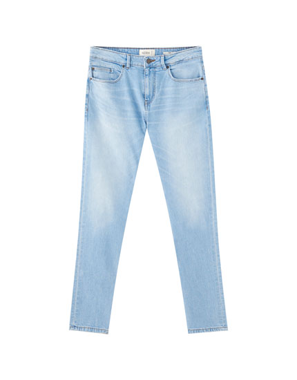 Basic slim fit comfort jeans