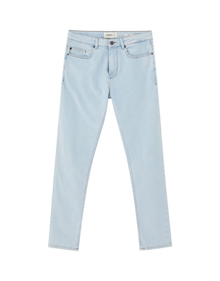 Basic light blue slim comfort fit jeans