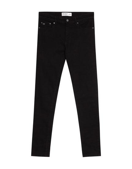 Jeans super skinny fit negro