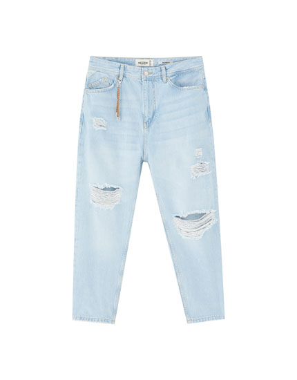 Faded relaxed fit jeans
