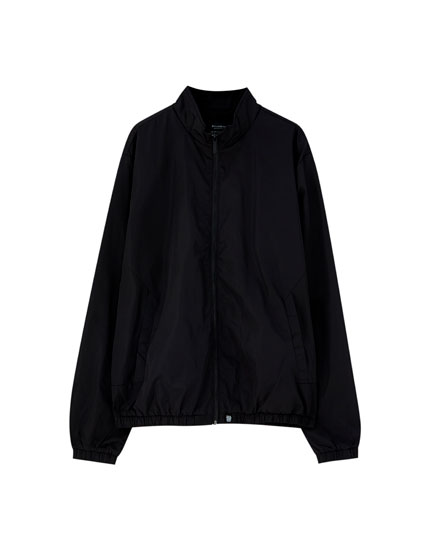 Basic zip-up jacket