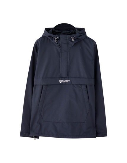 Lightweight pouch pocket jacket