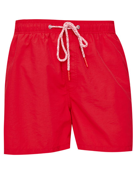 Basic coloured swimming trunks