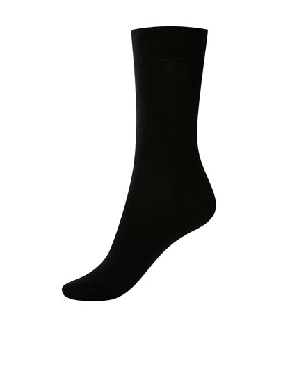 5-pack of black socks