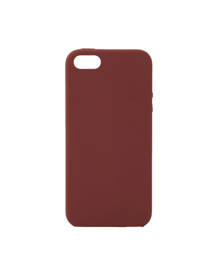 Basic coloured smartphone case