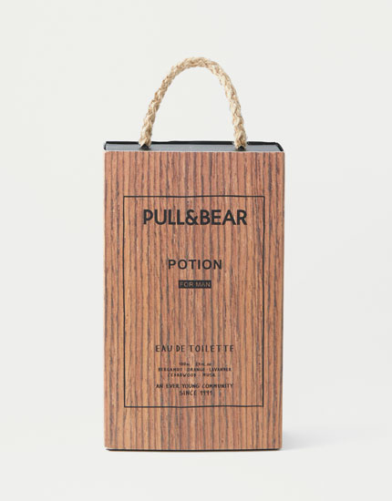 Pull&Bear potion eau de toilette for men 100ml