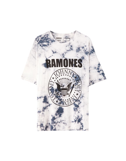 T-shirt Ramones tie and dye
