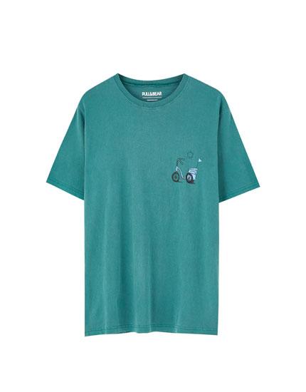 Garment-dyed T-shirt