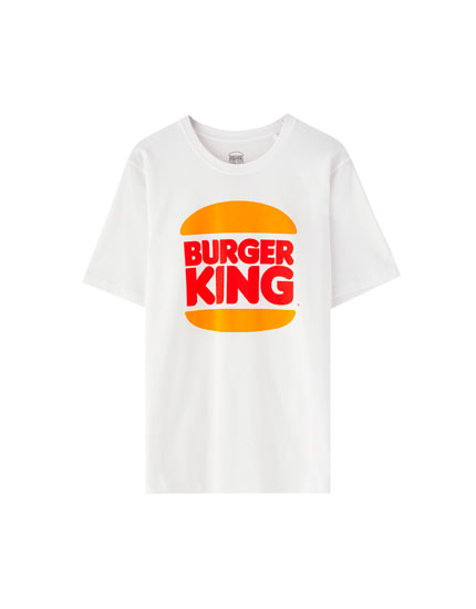 Shirt mit Burger King-Logo