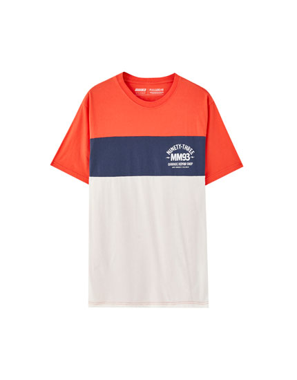 Marc Márquez colour block T-shirt