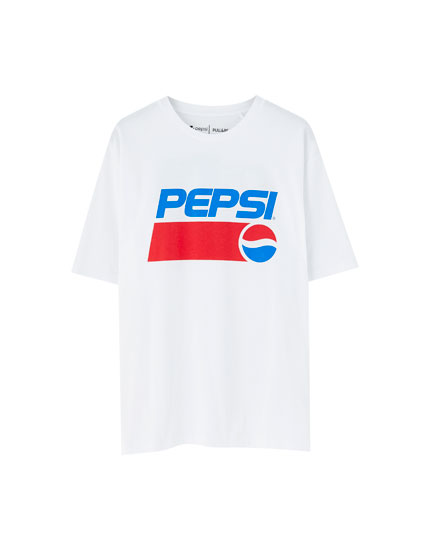 T-shirt Pepsi message