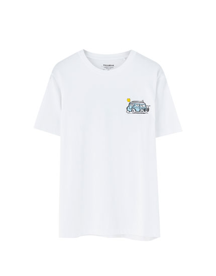 983966bc7179 Check out the latest in Men's T-shirts | PULL&BEAR