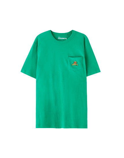 Green Kermit the Frog T-shirt