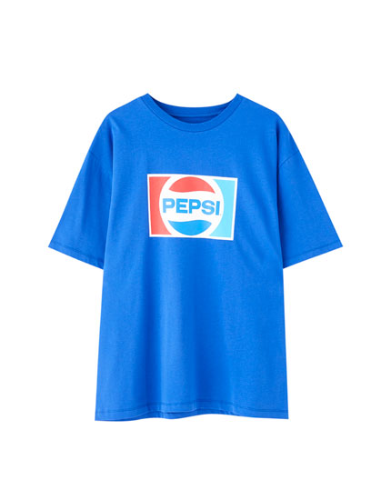Blue Pepsi T-shirt