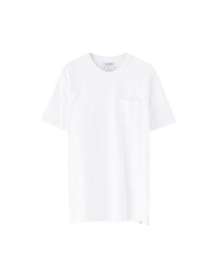 Μπλούζα με χοντρή πλέξη και τσέπη