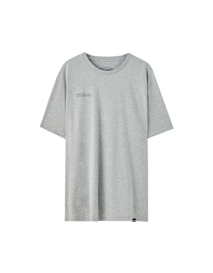 "Grey ""Rack up"" T-shirt"