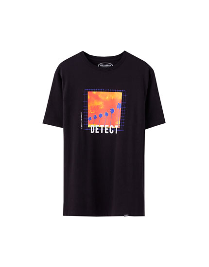 """Detect"" illustration T-shirt"