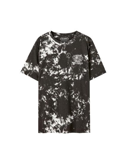 Camiseta Tie-Dye logo
