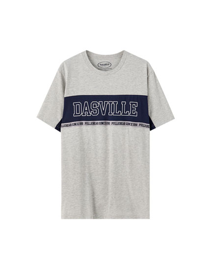 Colour block Dasville T-shirt