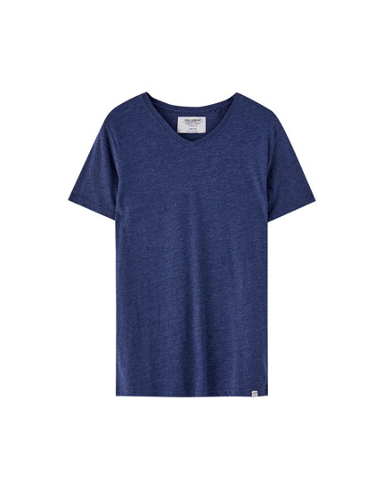 Μπλούζα με λαιμόκοψη V Join Life