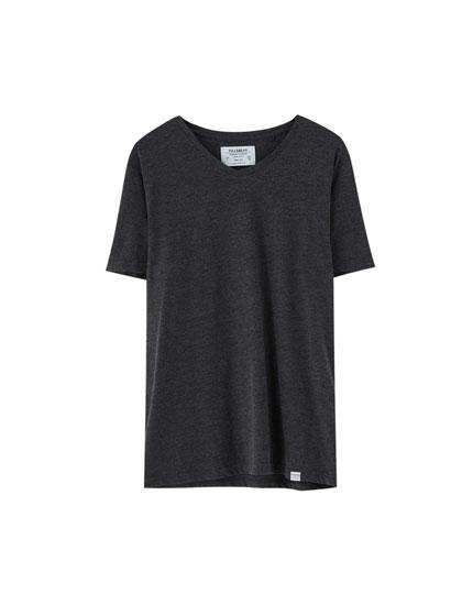 T-shirt à col en V Join Life