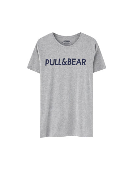 T-shirt com logótipo de manga curta