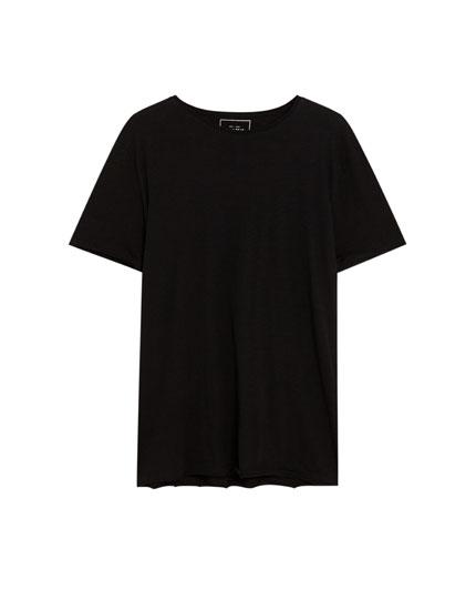 Camiseta básica manga corta