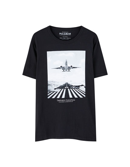 Photodream aeroplane T-shirt
