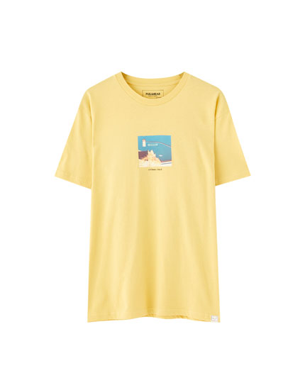 Yellow 'Urban Theory' T-shirt