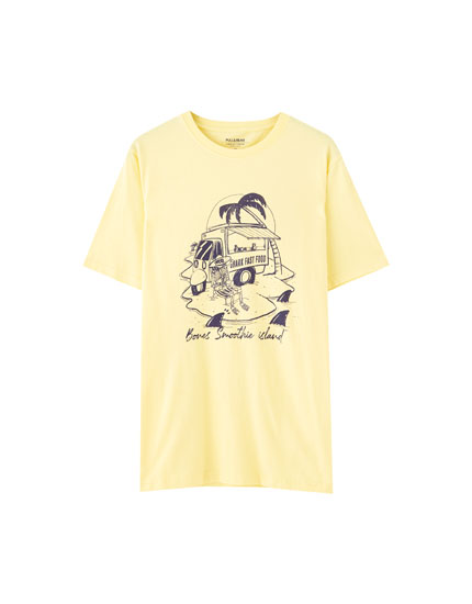 Yellow food truck T-shirt