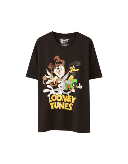 Black Looney Tunes T-shirt