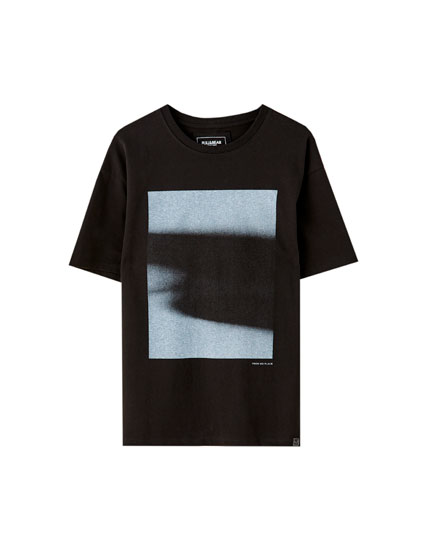 Fog illustration T-shirt