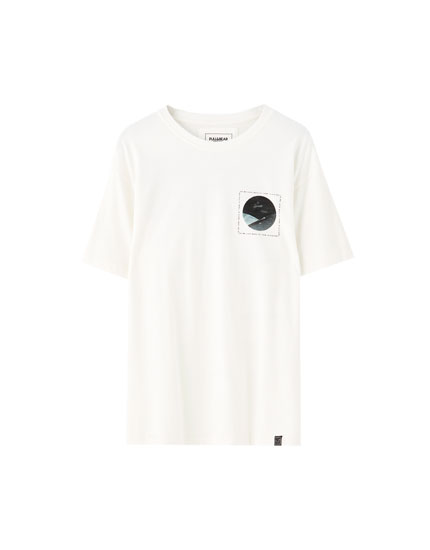 Circle illustration T-shirt