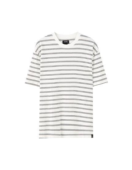 Camiseta doble raya