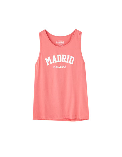Camiseta tirantes Madrid