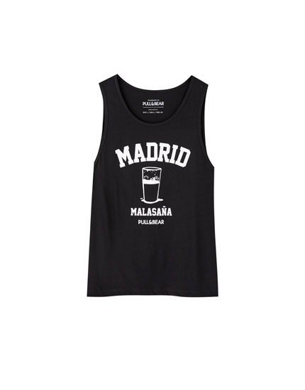 Camiseta tirantes Madrid Malasaña