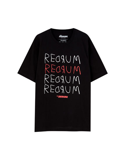 The Shining 'Redrum' T-shirt