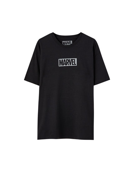 Marvel T-shirt with reflective detail